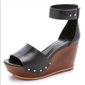 Derek Lam wedge sandals